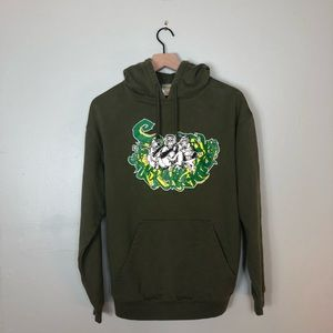 Three Wise Monkeys Graffiti Hoodie